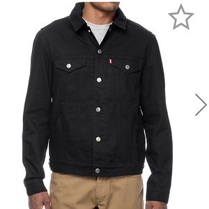 NEOT Levi's Black Commuter Hooded Trucker Jacket